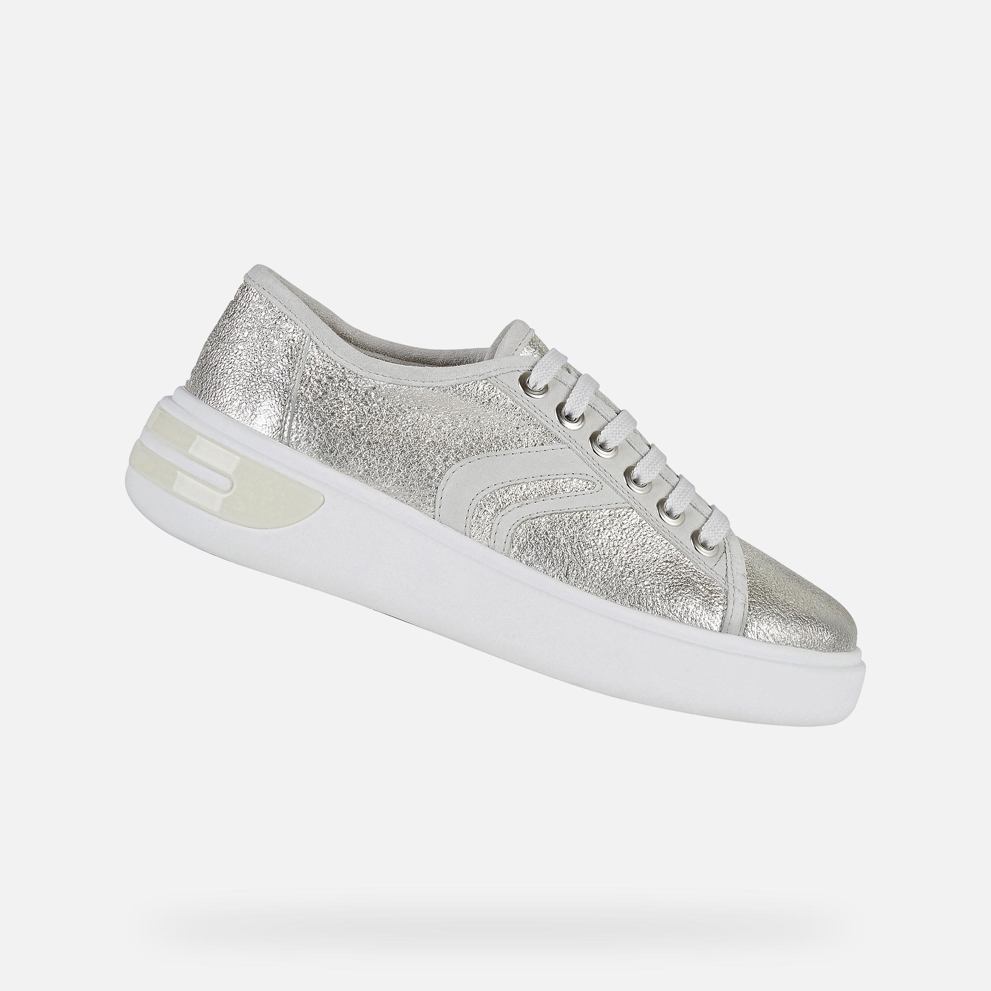 Geox OTTAYA Woman: Silver Sneakers