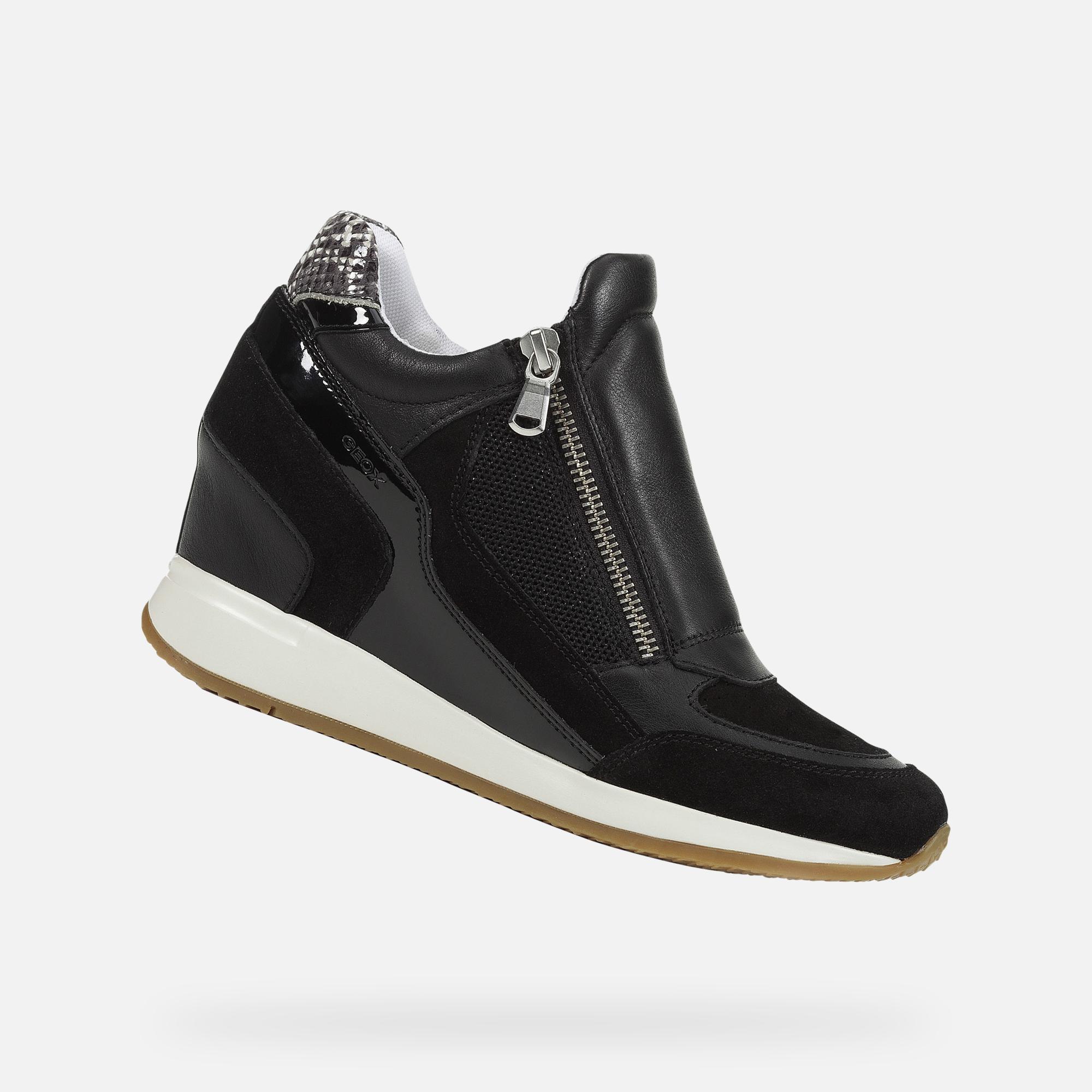 Geox NYDAME Woman: Black Sneakers