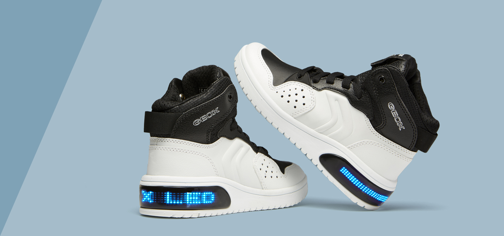 promo code 95d8d 4c70a Light Up Shoes and Sneakers for Boys | Geox