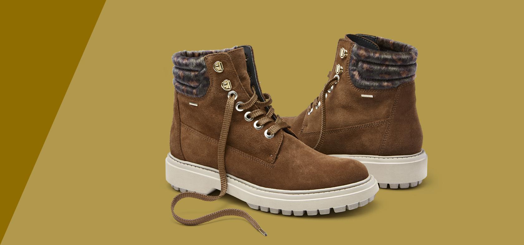 Chaussures confortables Femme montantes et respirantesGeox ZiukPOX