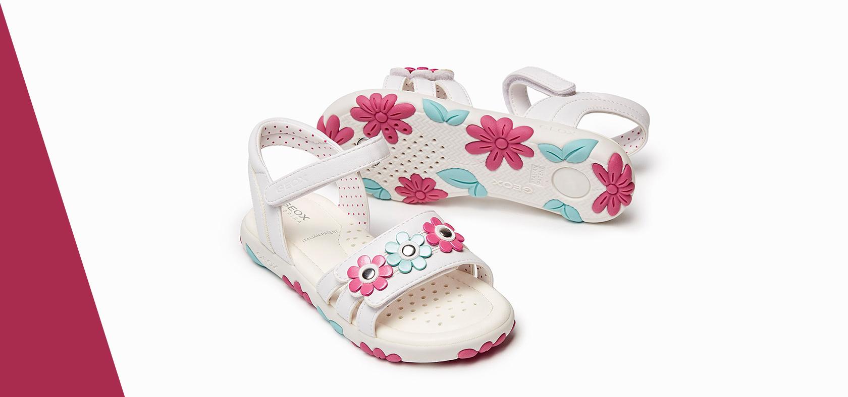 Girls' Breathable Or Elegant SandalsGeox Casual uTkwPXOiZ