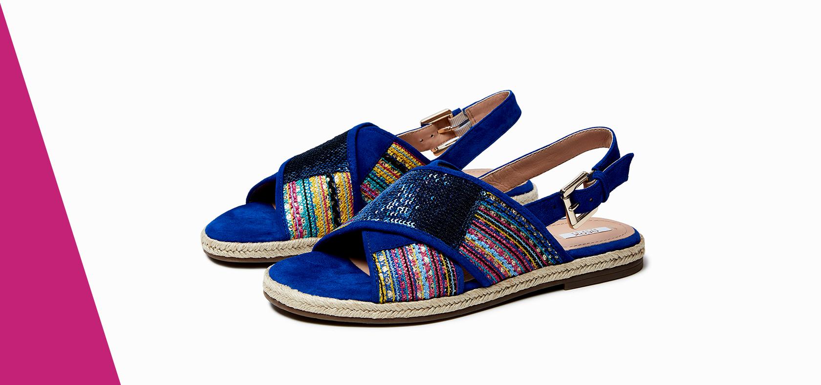 04fcebb6bc02f2 BASSI. Grazie alla speciale suola perforata, i sandali bassi donna Geox ...