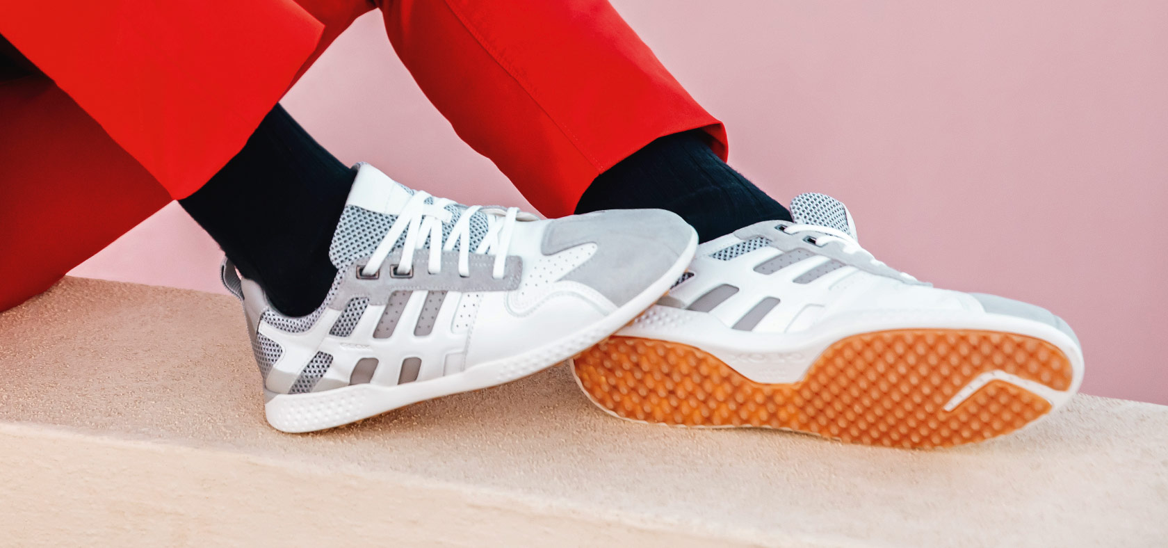 Scarpe Sneakers da Uomo Traspiranti | Geox