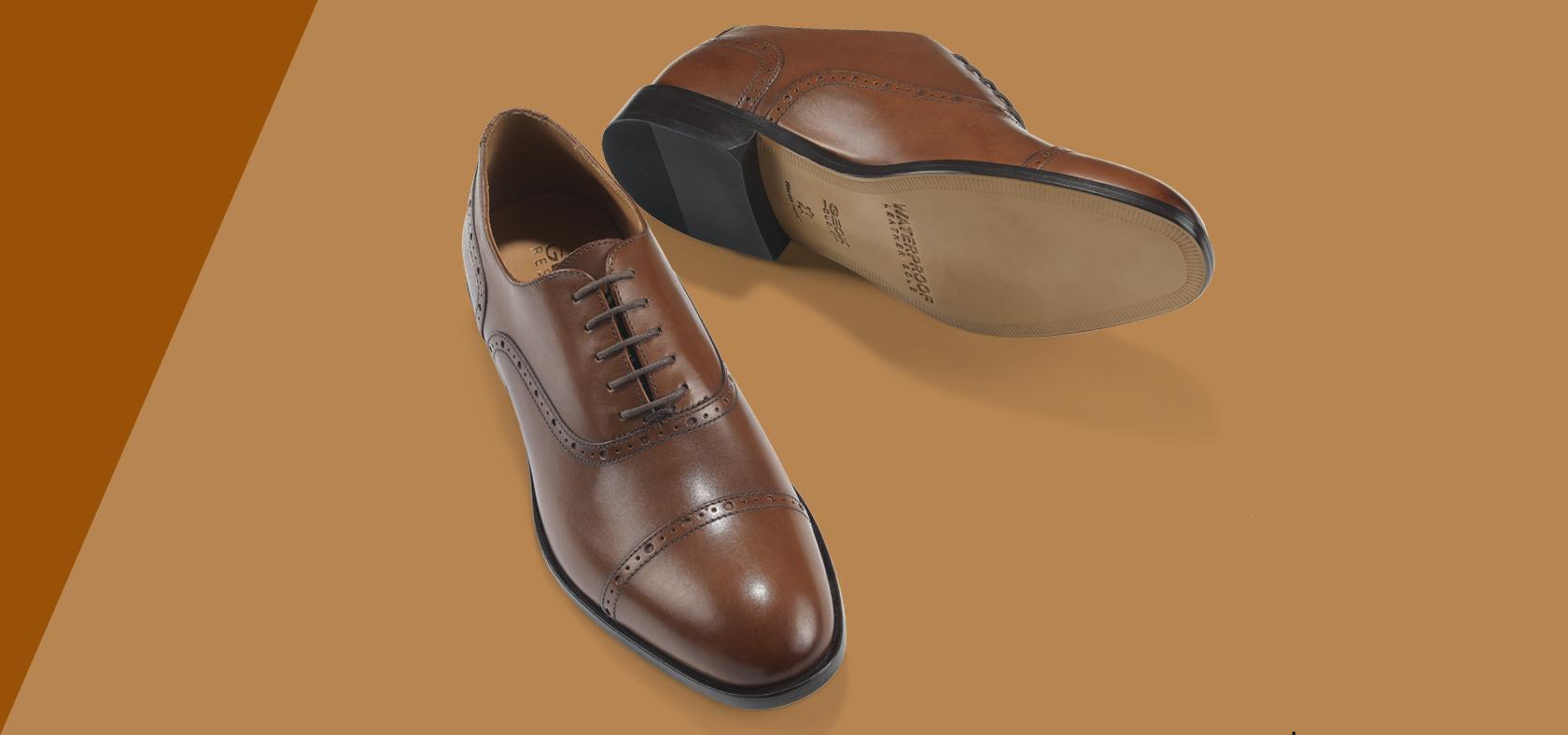 Schuhe aus Leder für Herren | Geox