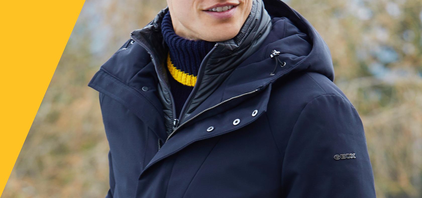 die beste Einstellung 2020 online zum Verkauf Men's Breathable Clothing, Jackets & Outerwear | Geox